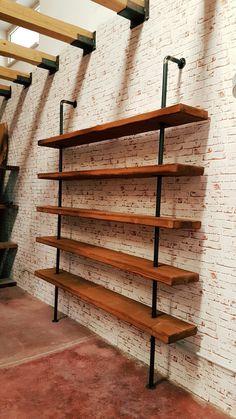 Esclusiva #xlabdesign libreria da parete stile industrial Made in italy il vero design industriale firmato XLAB La fabbria delle idee