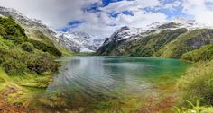 Lake Marian by Itay Gal on New Zealand, Paths, Waterfall, This Is Us, Mountains, Nature, Travel, Naturaleza, Viajes