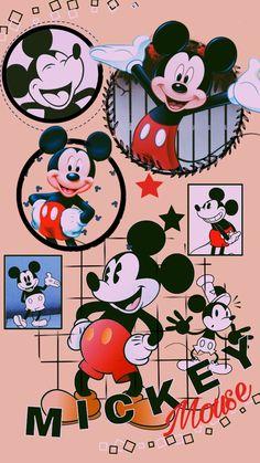 Mickey Mouse Art, Mickey Mouse Wallpaper, Mickey Mouse And Friends, Disney Wallpaper, Minnie Mouse Pictures, Disney Pictures, Disney Stuff, Disney Art, Printable Art