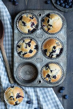 Blueberry muffins by Ruth Black - Muffin, Blueberry - Stocksy United