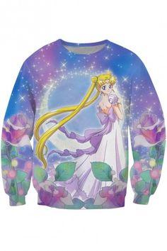 0f1c45787 Tattoo inspiration 2017 - nulllllly: Best-selling 3D Sweatshirts&Hoodies Sailor  Moon
