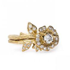 Heart's Desire Yellow Gold | Claire Pettibone Fine Jewelry Collection