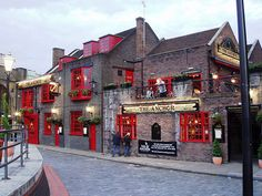 The Anchor Pub ~ From this pub Samuel Pepys watched London, England, burn. Originally built in 1676.