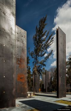 Memorial to Victims of Violence / Gaeta-Springall Arquitectos.