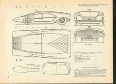1970 Bertone Lancia Stratos Zero