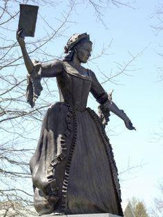 Mercy Otis Warren, political writer of the American Revolution.  http://imgc.allpostersimages.com/images/P-473-488-90/30/3034/SNMBF00Z/posters/statue-of-mercy-otis-warren-in-barnstable-massachusetts.jpg