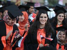 Iraqi students in Graduation ceremony