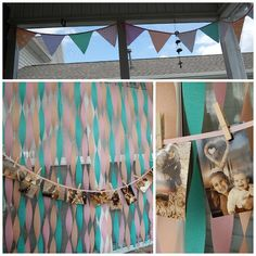 We Heart Parties: Party Information - Shabby Chic First Birthday