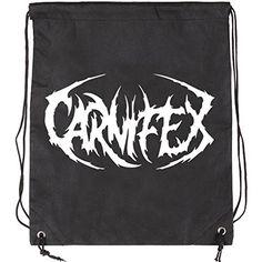 Carnifex Logo Drawstring Backpack
