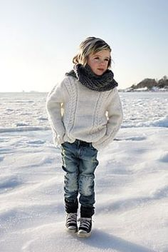 Stylish kid!