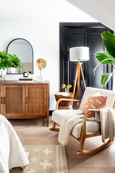 Queer Eye's Bobby Berk Makes Over Childhood Home He Left at 15 Years Old for His Parents: It 'Was So Special' – Einrichten und wohnen Furniture Top View, Brown Furniture, Furniture Design, Deco Furniture, Plywood Furniture, Chair Design, Modern Furniture, Home Interior, Interior Decorating