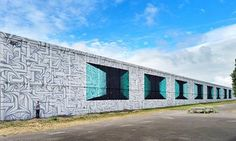 """Astro_odv_cbs,  1200 m2 work for project """"100 murs pour la Jeunesse"""" in Fort-Nieulay, Calais, France, 2017"""