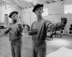 Buster Keaton and Donald O'Connor | Photographer Spotlight: Allan Grant | LIFE.com