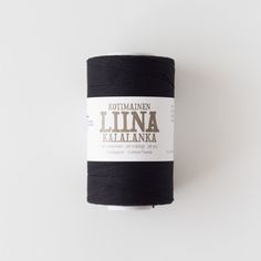 Loom & Spindle are proud to have partnered with Suomen Lanka of Finland to bring you a range of cotton warp threads in a selection of vibrant shades -  https://www.loomandspindle.com.au/shop/cotton-warp-thread-by-suomen-lanka-black