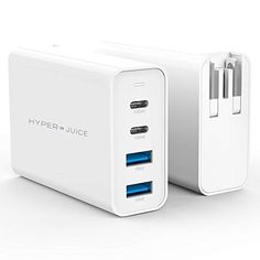#HyperJuice 100W #GaNCharger with Pin Converters Macbook Pro 13, Macbook Air, Hp Spectre, Dell Xps, Iphone Accessories, Ipad Pro, Iphone 7 Plus, Android