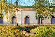 """The Chinese Village in the Alexander Park at Tsarskoe Selo. """"AL"""""""