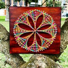 Mandala Flor #StringArt #GardenaArt