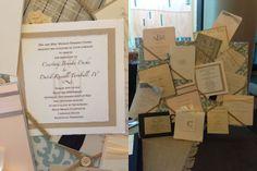 custom wedding invitations km design, nashville wedding show booths, #nashville, #wedding, #gettingmarriedinnashville