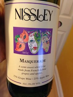 Another delicious wine from Nissley. $11