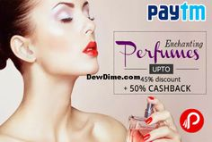 Paytm has bring forth with a sensational offer for its customers again. In this offer you'll get 50% Cashback on Branded Perfumes. Have a Joyful Shopping ! How to Grab Branded Perfumes offer:- Click Here to visit Paytm Sign in /Sign Up Click on Buy Now Enter your Address Go to Payment Page Use Coupon …