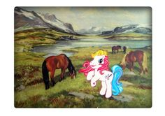 «Pånidalen» - A4 trykk - Linnosaurus - Epla