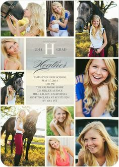 Striped Wash - Graduation Invitations - Hello Little One - Charcoal - Gray : Front