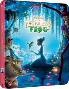 776585f1e363c The Princess and the Frog - Zavvi Exclusive Limited Edition Steelbook.  Beautiful Love StoriesWalt Disney StudiosAladdinDvd Blu ...