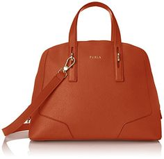 Furla Perla Medium Satchel Top-Handle Bag None