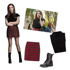"""Anna Kendrick"" by fashion-nerd-13r ❤ liked on Polyvore featuring Yumi, rag & bone and pitchperfect2"
