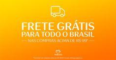 A partir de agora, você pode comprar Natura com frete grátis para todo Brasil* nas compras acima de R$ 99,00 no http://rede.natura.net/espaco/carolinadovalle em até 6x sem juros e frete grátis! A P R O V E I T A ! *Exceto entrega expressa. Isenção aplicada diretamente na sacola de compras. Esta é uma nova política de Frete Grátis e não tem período de validade. ♥ #RedeNaturaEspaçoCarolinadoValle #FreteGrátisNatura #ConsultoraNatura #FreteGrátis #Natura