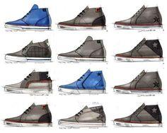 #converse #shoes #colours #design #sketches