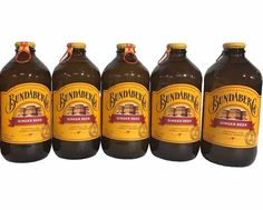 BUNDABERG GINGER BEER NON-ALCOHOLIC 5-PACK #Bundaberg