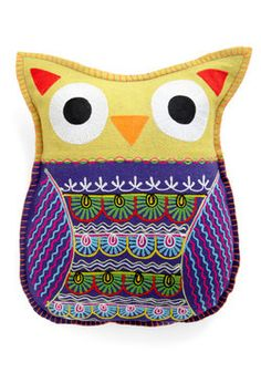Owl Cuddly Pillow
