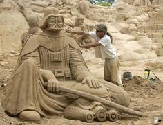 Awesome collection of Star Wars sand castles from BitRebels (Click for more!)