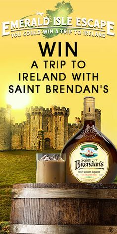 Win A Trip To Ireland With Saint Brendan's