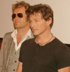 Morten Harket & Mags Furuholmen from a-ha. Still hot after all these years. Mags was always my Fav!