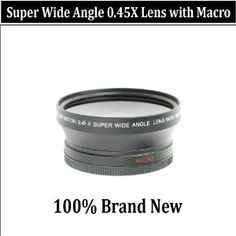 Wide Angle/Macro Lens FOR THE CANON DIGITAL REBEL T3I T2I 550D.THIS LENS ATTACH DIRECTLY TO THE FOLLOWING CANON LENSES 18-55mm, 75-300mm, 50mm 1.4 , 55-200mm  $14.95