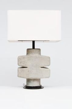 Ceramic Table Lamp, Circa 1970 | Magen Gallery