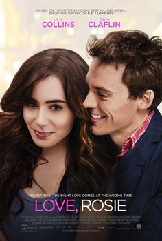 Love, Rosie on DVD May 2015 starring Lily Collins, Sam Claflin. Since the moment they met at age Rosie (Lily Collins) and Alex (Sam Claflin) have been best friends, facing the highs and lows of growing Film Movie, See Movie, Comedy Movies, Movie List, Series Movies, Hd Movies, Movies To Watch, Movies Online, Action Movies