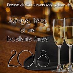 L'équipe d'Evalon Paris vous souhaite de Joyeuses Fêtes et une Excellente Année 2018 !