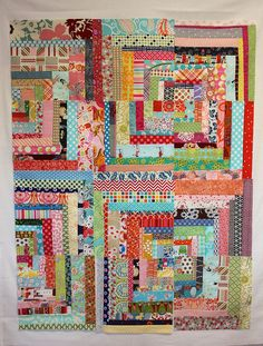 Scrapper's Delight from Sunday Morning Quilts by pink chalk studio, via Flickr