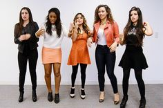 You just sprayed yourself in the eye with perfume: | All The Fifth Harmony Reaction GIFS You'll Ever Need