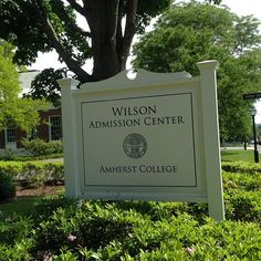 Wilson Admission Center at Amherst College