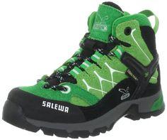 SALEWA JR ALP TRAINER MID GTX, Unisex-Kinder Trekking- & Wanderstiefel, Grün (5292_Bamboo/Eucaliptus), 27 EU (9 Kinder UK) - http://on-line-kaufen.de/salewa/27-eu-9-kinder-uk-salewa-jr-alp-gtx-unisex-kinder