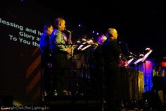 Essex Alliance Church - Easter 2010.  Lighting, audio, video, and backline by Dark Star Lighting, Inc.