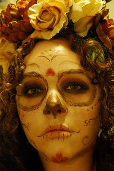 Day of the Dead Girl by tsorningold, via Flickr