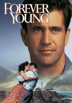 Forever Young (1992) In 1939, the love of Daniel's (Mel Gibson) life, Helen (Isabel Glasser), falls comatose after an accident. Grief-stricken, he agrees to be frozen alive in scientist Harry's (George Wendt) cryogenics experiment in the hopes that when he's thawed, Helen will be recovered. Some 50 years later, two kids revive Daniel, leaving him to cope with society's developments -- and having to find Harry and Helen. Jamie Lee Curtis co-stars.