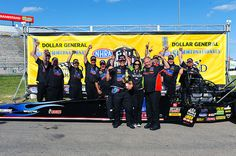 David Grubnic and the Candlewood Suites team celebrating their Topeka win with Alexis DeJoria!
