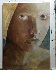 #portrait #paint #oilpainting #originalart #almazzaglia #artwork #paint #beauty