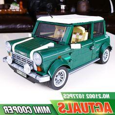 38.99$  Buy here - https://alitems.com/g/1e8d114494b01f4c715516525dc3e8/?i=5&ulp=https%3A%2F%2Fwww.aliexpress.com%2Fitem%2Flepin-21002-technic-series-Cooper-Model-Building-Kits-Blocks-Bricks-Toys-Compatible-With-10242%2F32787265038.html - lepin 21002 technic series Cooper Model Building Kits Blocks Bricks Toys Compatible With 10242